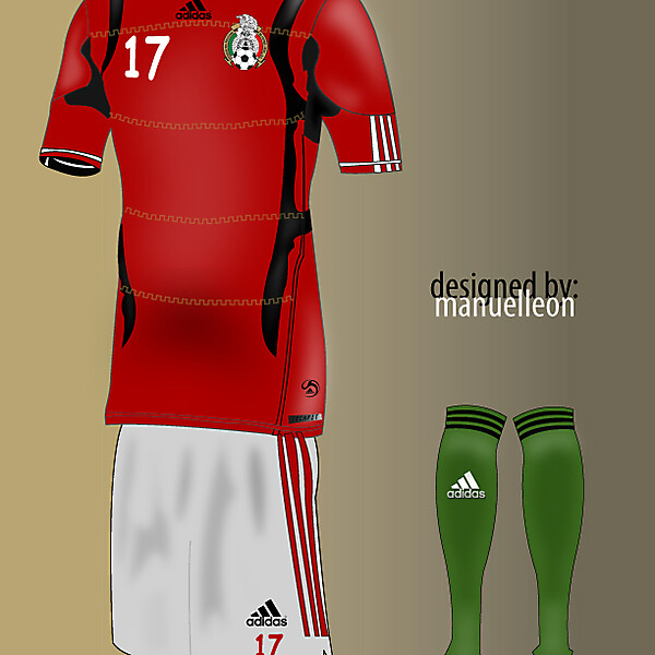 Mexico\'s red third
