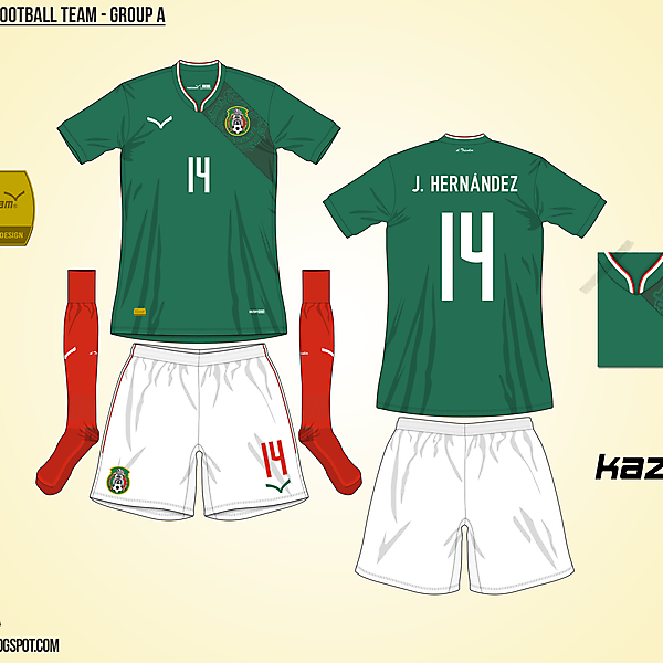 Mexico Home - Group A, 2015 Copa América
