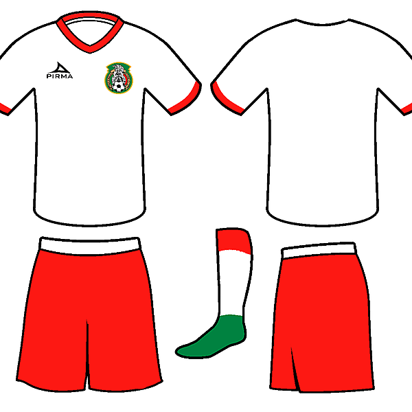 Mexico Pirma Away Kit