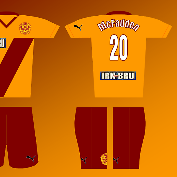 Puma Fantasy kit - Motherwell Home