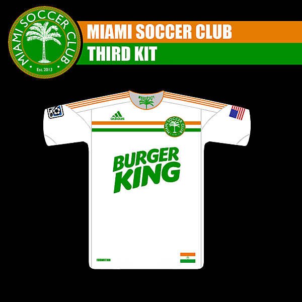 Miami SC Fantasy Third Kit