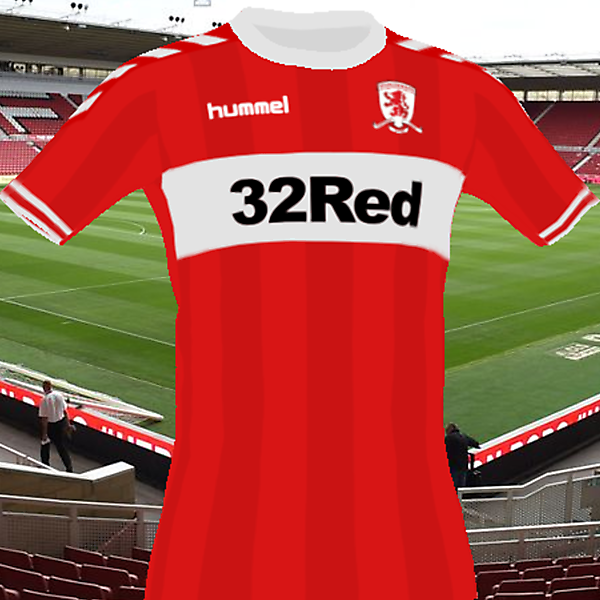 Middlesbrough Hummel Kit 18/19