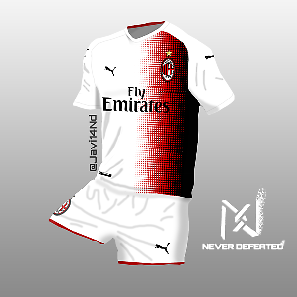 Milan x Puma Away Kit