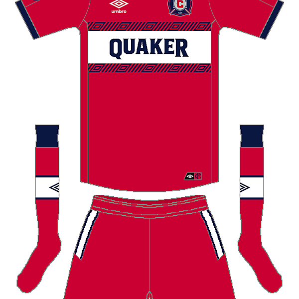 MLS x Umbro - Chicago Fire Home