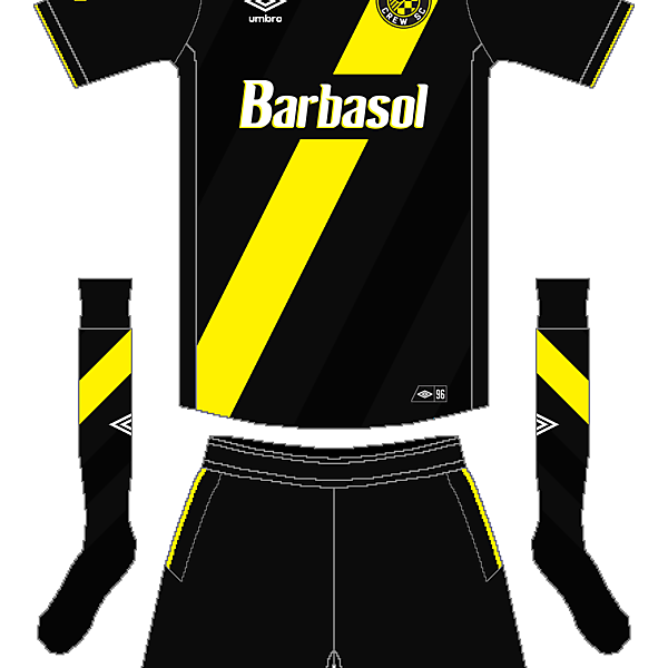 MLS x Umbro - Columbus Crew Away