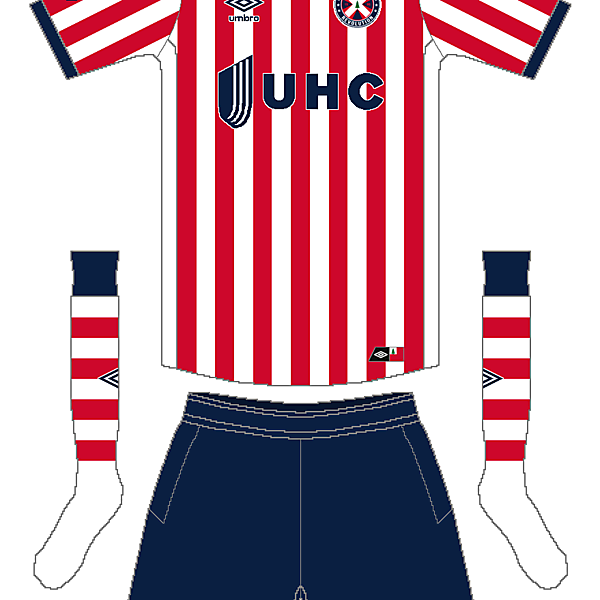 MLS x Umbro - New England Revolution Away