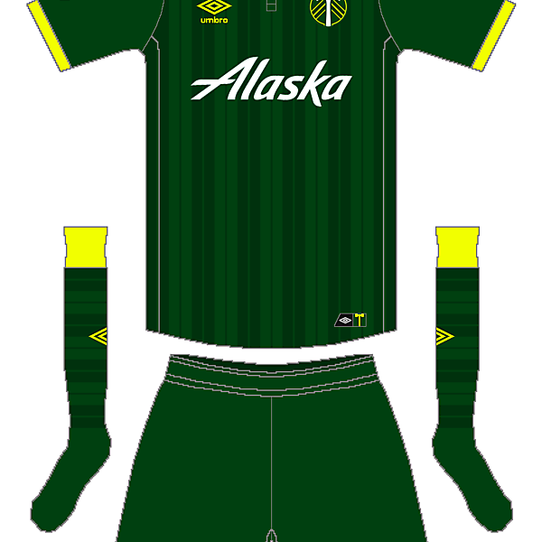 MLS x Umbro - Portland Timbers Home