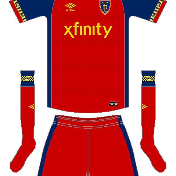MLS x Umbro - Real Salt Lake Home