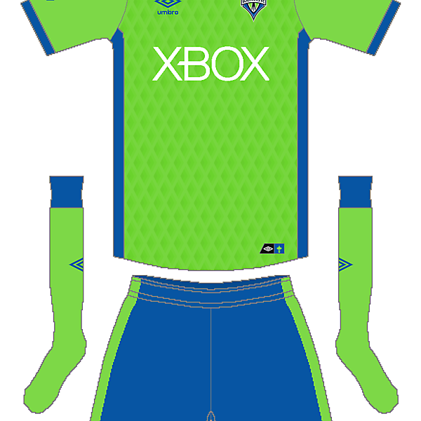 MLS x Umbro - Seattle Sounders Home