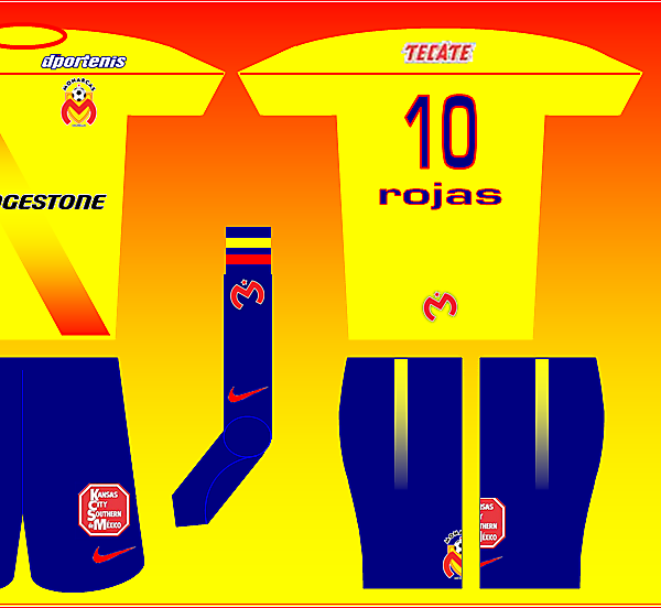 Nike Fantasy Kit - Monarcas Morelia Home