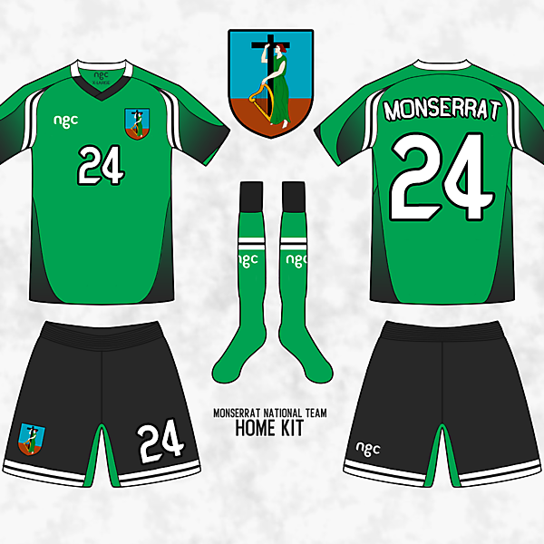 Monserrat Home + New template