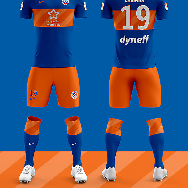 Montpellier HSC Home Kit