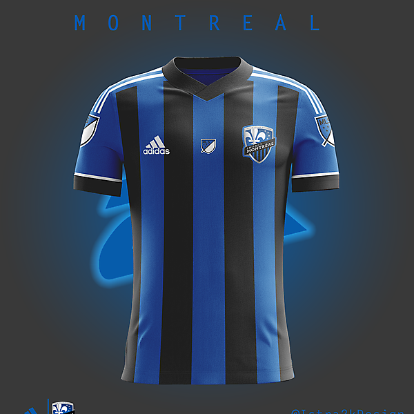 Montreal Impact - Home kit V2