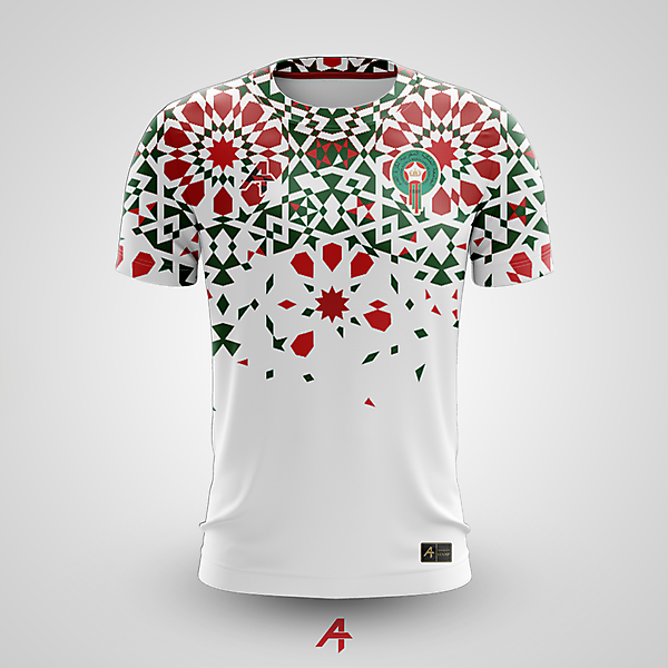 Morocco away kit concept