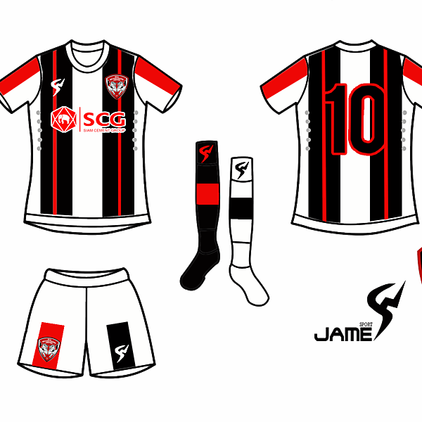 Muangthong United Newjersey Away 2017
