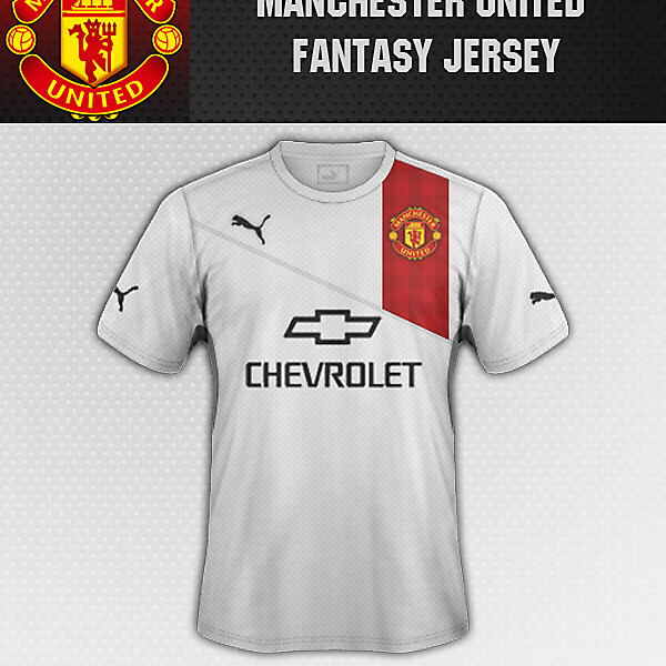 MANCHESTER UNITED FANTASY THIRD JERSEY