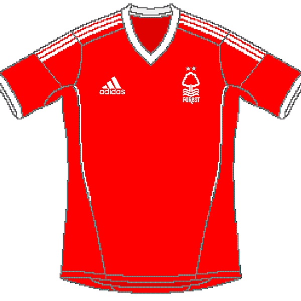 Nottingham Forest Adidas Home