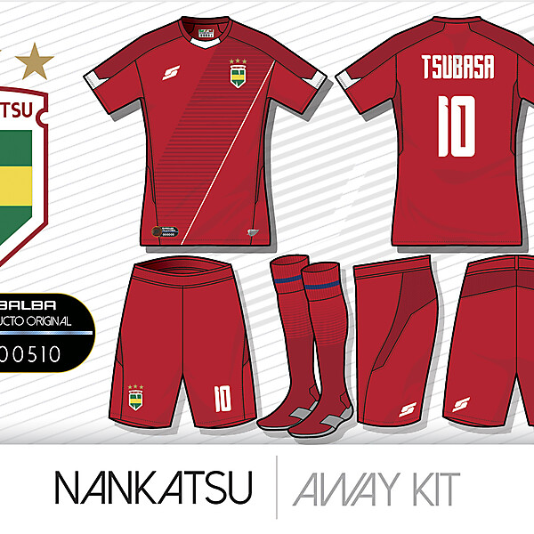 Nankatsu Away kit