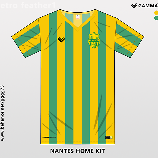 nantes home kit
