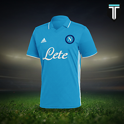Napoli Adidas Home Kit Concept