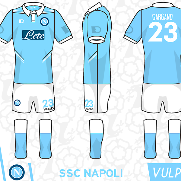SSC Napoli Home Kit