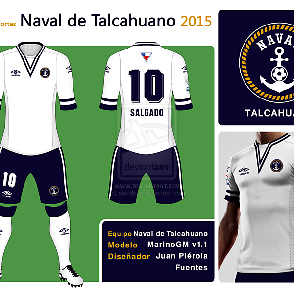 Naval de Talcahuano New Badge Kit