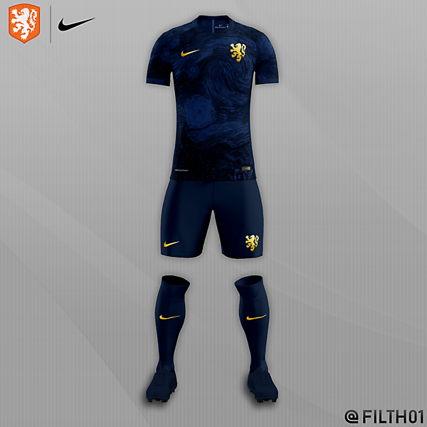 Nederlands x Nike | Starry Night