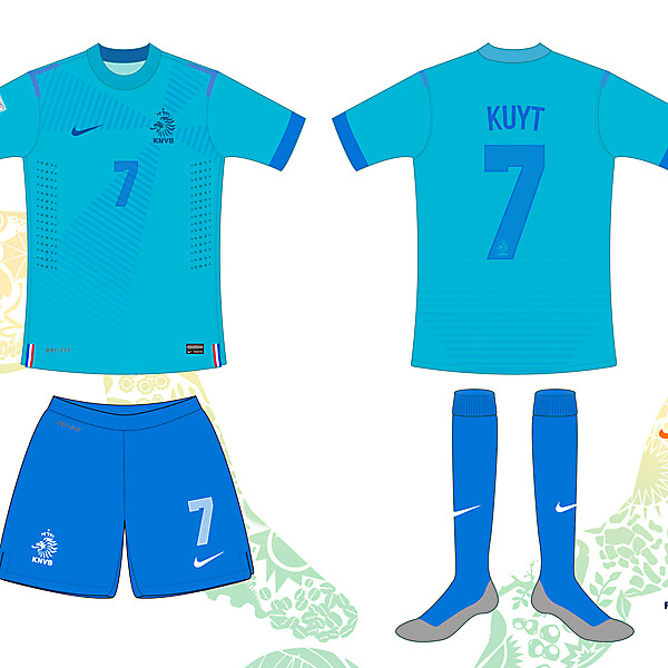 Netherlands / Holland 2014 World Cup Away Shirt