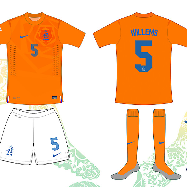 Netherlands / Holland 2014 World Cup Home Shirt