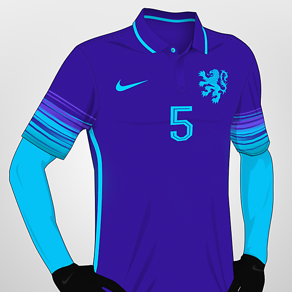Netherlands Away (colores 2016/17)