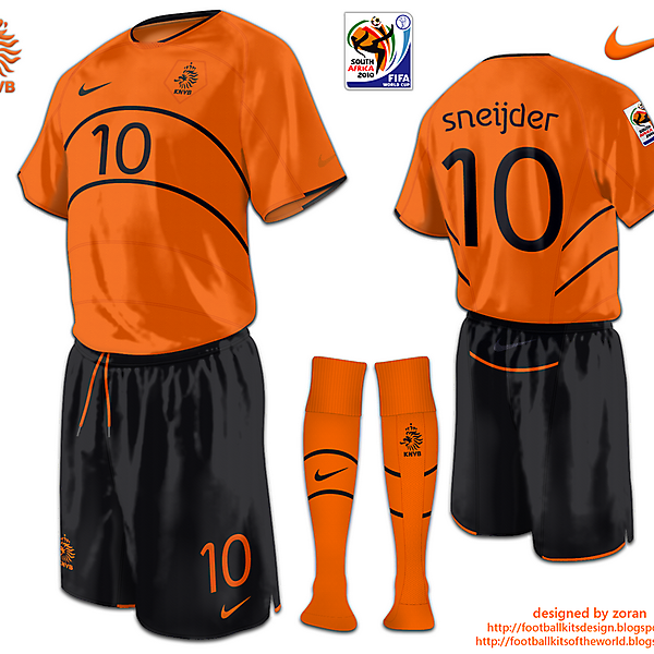 Netherlands World Cup 2010 fantasy home