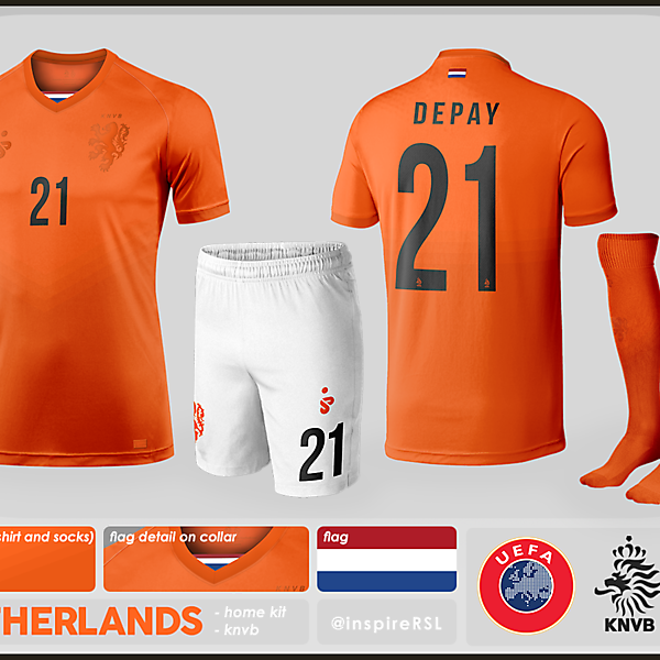 Netherlands Kit - World Cup Competition, 3rd/4th Place Play-off