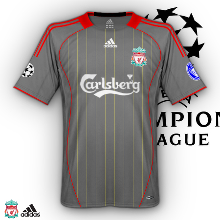New away Liverpool shirt