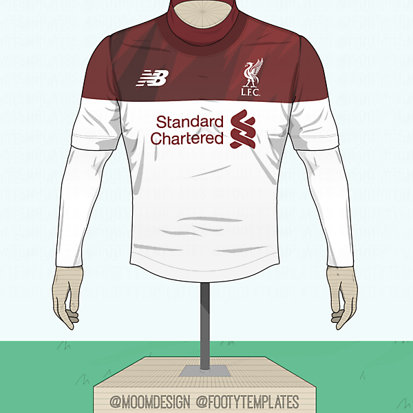 New Balance Liverpool Away Shirt