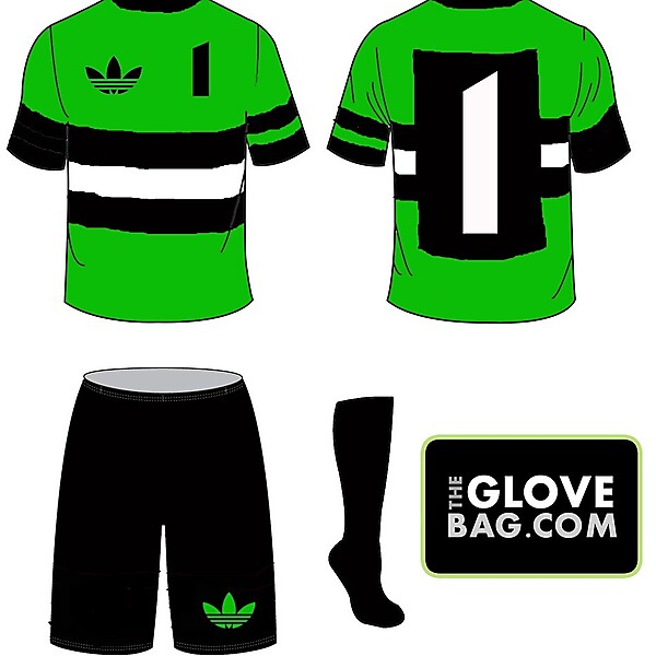 New Vintage Goalkeeper Jerseys