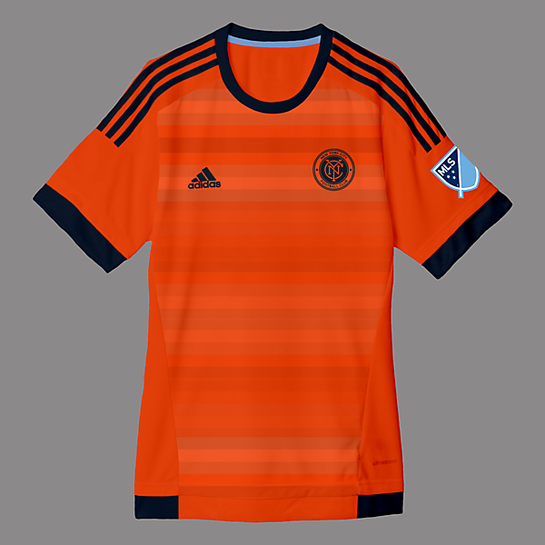 New York City Away Kit Design