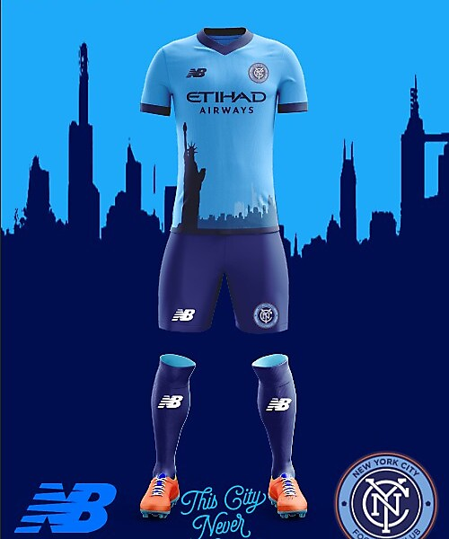 New York City FC 2018 New Balance Home KIt