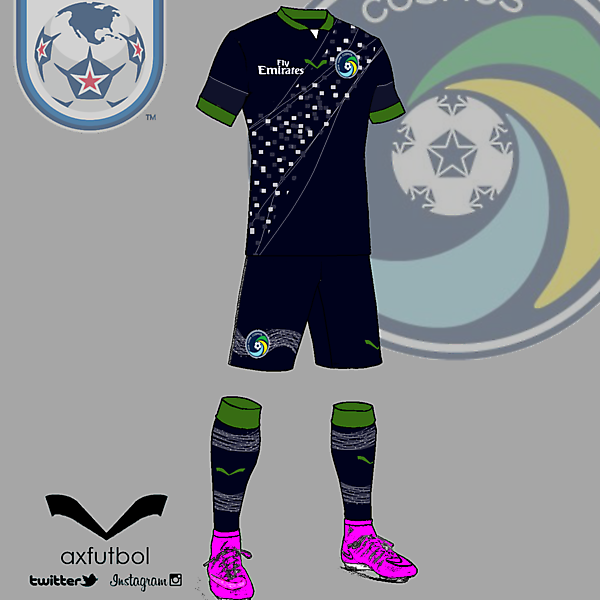New York Cosmos away kit