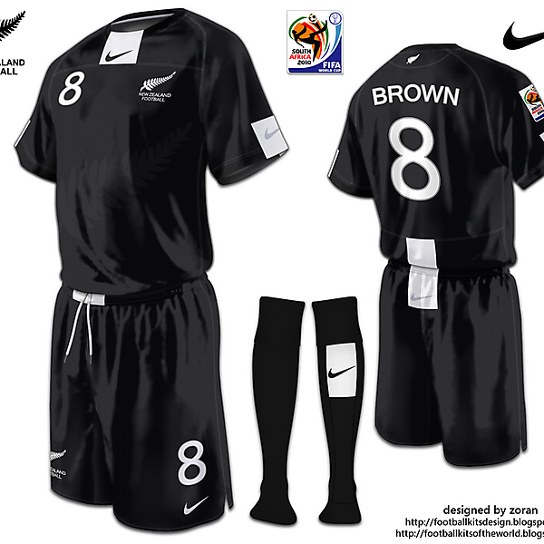 New Zealand World Cup 2010 fantasy away