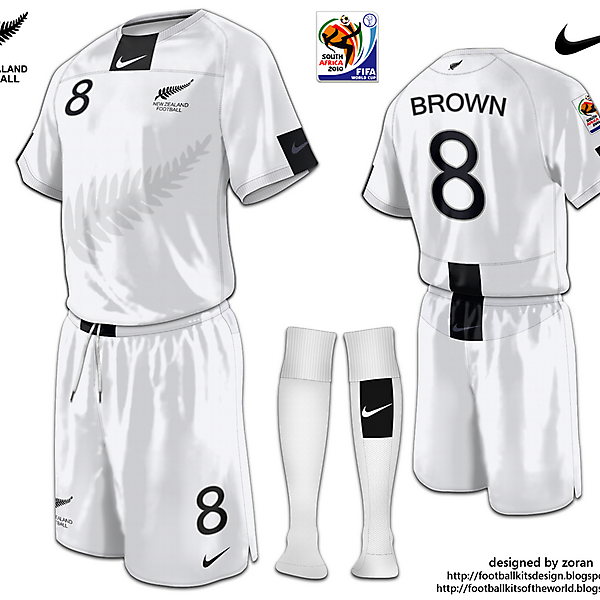 New Zealand World Cup 2010 fantasy home