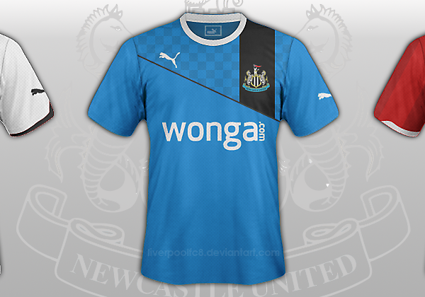Newcastle United 2013/14 Mock Kits