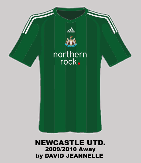Newcastle Away 2009/2010