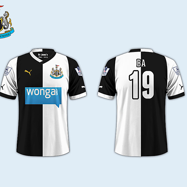 Home Kit // Newcastle United