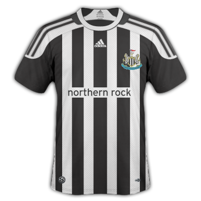 Newcastle United Home Kit