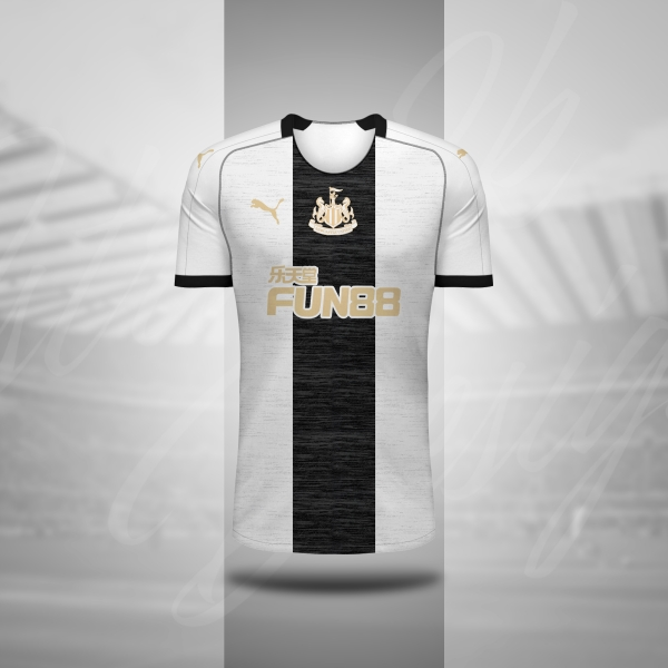 Newcastle x Puma - Home