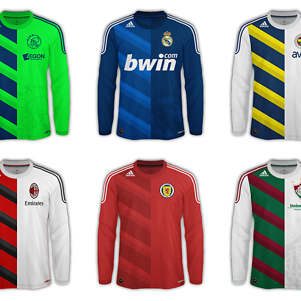 Adidas Away Shirt Fantasy Template