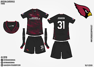 #NFLtoSoccerProject - Arizona Cardinals (Third)