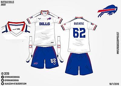 #NFLtoSoccerProject - Buffalo Bills (Away)