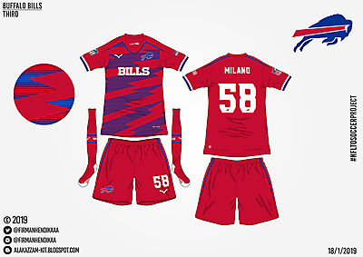 #NFLtoSoccerProject - Buffalo Bills (Third)