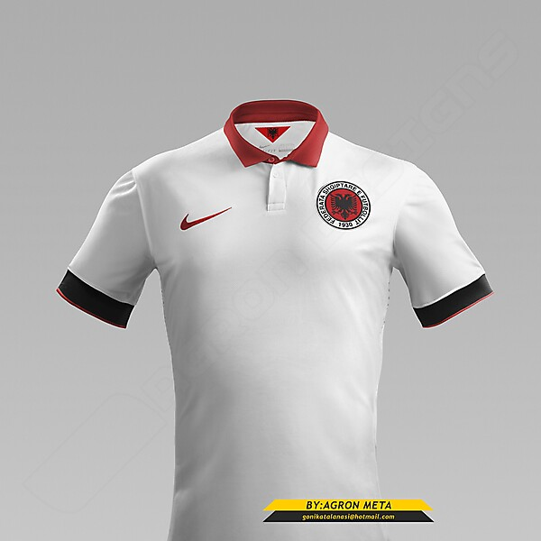 NIKE ALBANIA NT EURO 2016 FANTASY AWAY KIT (BY AGRON META)